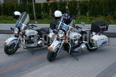 Polizei-Harley im Doppelpack