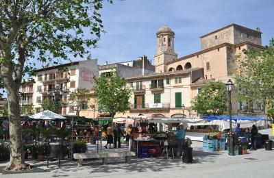 Markttag in Llucmajor