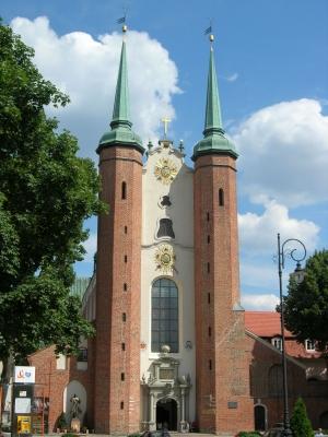 Polen - Danzig: Kathedrale in Oliva