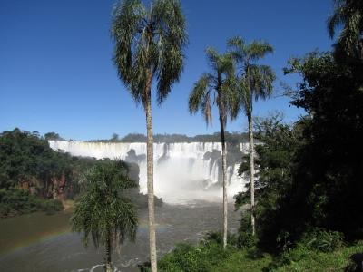 Iguazu-Wasserfälle Brasilien Argentinien