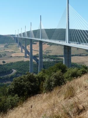Viadukt von Millau Frankreich