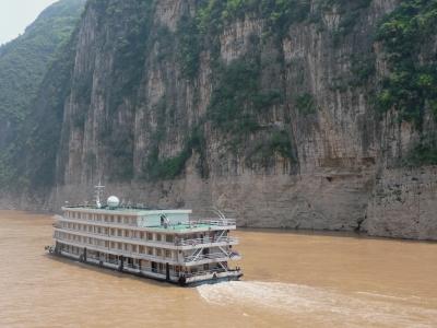 Aauf dem Jangtse/China: Kreuzfahrtschiff