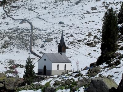 1. September - Bergkapelle im Schnee