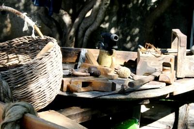 Bootsbauerwekzeug anno dazumal ;-)