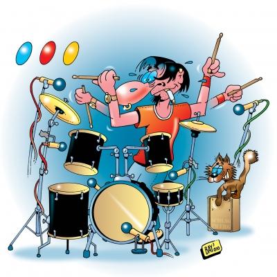 Die Band: DRUMS