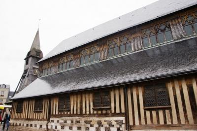 Die Kirche  von Honfleur