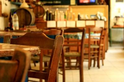 Lucks's Alfa Cafenion - Azogires Kreta 2010