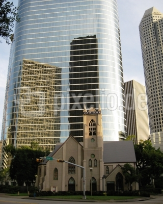 Spiegelungen 3 oder Seelenheil im Schatten der Hochhäuser