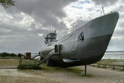 Uboot 995 aus dem 2. Weltkrieg