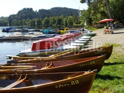 Bootsparade am Titisee