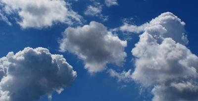 Blumenkohl-Wolken