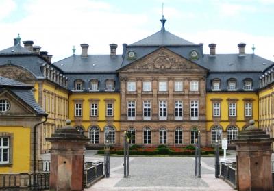 Residenzschloss Bad Arolsen - Eingangstor