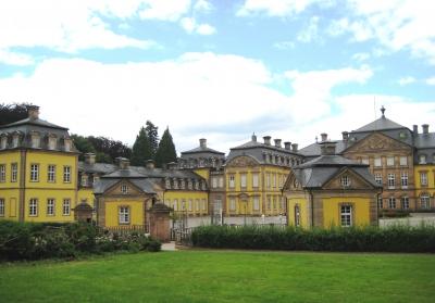 Residenzschloss Bad Arolsen - Torhäuschen und Seitenflügel