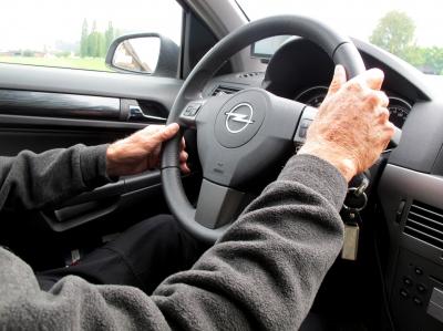 Volles Vertrauen in den Chauffeur