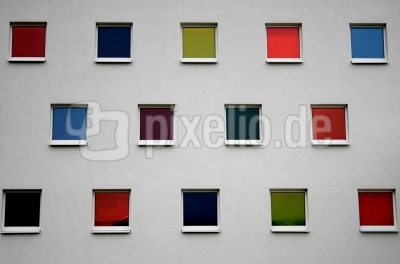 Textur bunte Fenster
