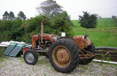 Traktor a. D.