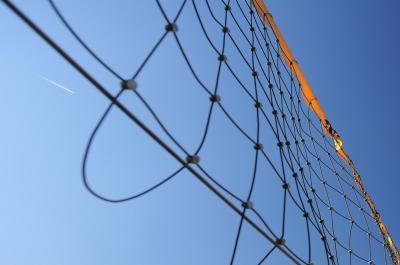 Beachvolleyballnetz