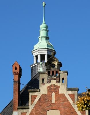 Berlin-Friedrichshagen, Ehem. Rathaus (Detail)