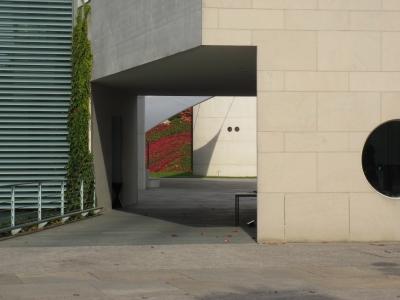 Bundeskanzleramt Berlin, Fassadendetail