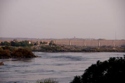 Alter Staudamm von Assuan