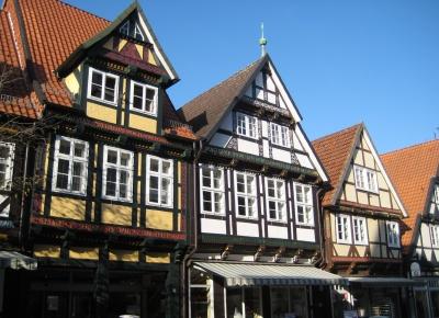 Fachwerkgiebel in Celle/Niedersachsen (2)