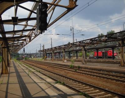 Dresden Hbf - alte Bahnsteige