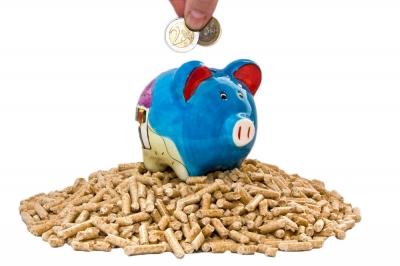 Sparen mit Pellets