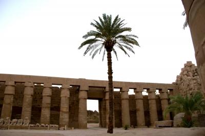 Der Tempel des Amun-Re,