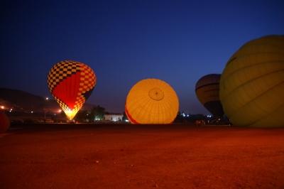 Ballonfahrt über Luxor 2
