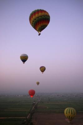 Ballonfahrt über Luxor 5