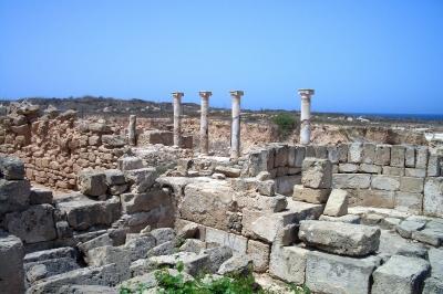 Ausgrabungsstätte in Paphos/Zypern