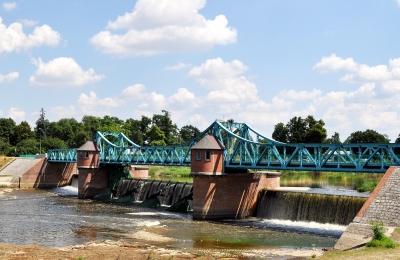 Breslau - Polen - Oderbrücke 2
