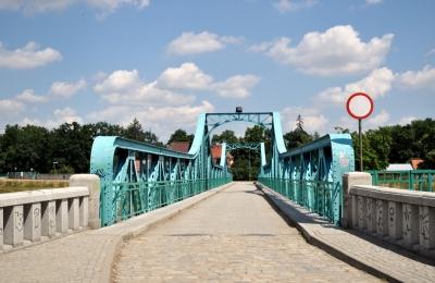 Breslau - Polen - Oderbrücke