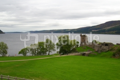 Urquhart Castle Loch Ness Schottland