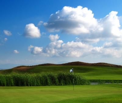 Allgemeiner Golfplatz Links-Course am Meer