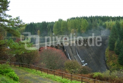 Stausee in den Borders in Schottland Talla Reservoir