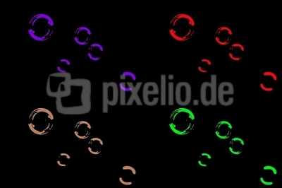 Seifenblasen in PopArt