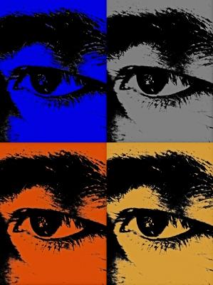 Augen PopArt
