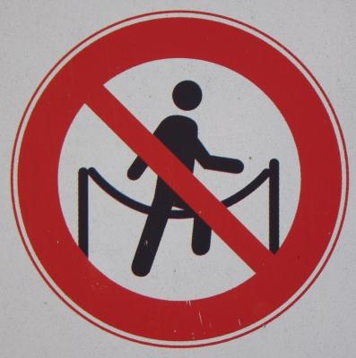 Seilchen springen verboten?