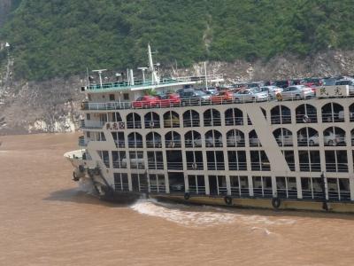 Schiffe auf dem Yangtse (China) 4
