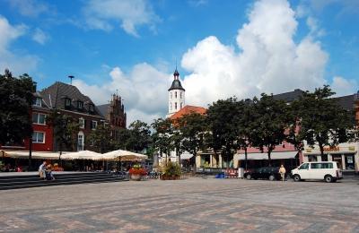 Xanten, Marktplatz