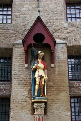 Xanten, Heiligenfiguren am Dom #11