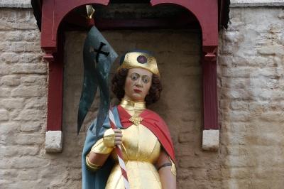 Xanten, Heiligenfiguren am Dom #12