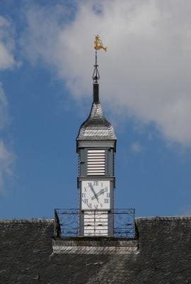 Wasserschloss Wissen am Niederrhein, Uhrenturm