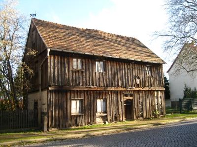 ältestes Haus in der Kleinstadt