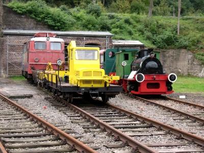 Eisenbahnmuseum Dieringhausen mehrere Loks