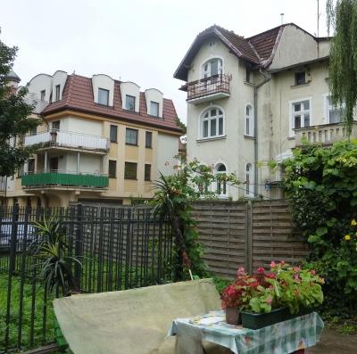 Alte Häuser in Sopot