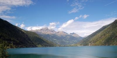 Bergsee Miralago bei Tirano