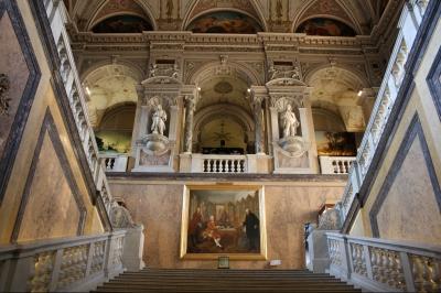 Treppenaufgang Naturhistorisches Museum Wien