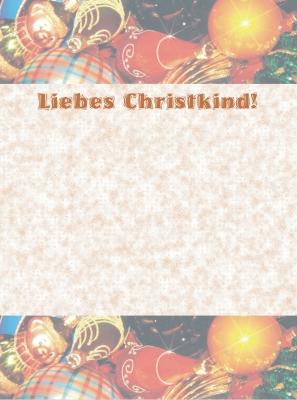 Kostenloses Foto Brief Ans Christkind 4 Pixeliode